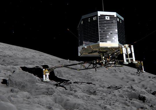 comet lander